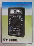 Мультиметр цифровой DT-830B (прозвонка), фото 3