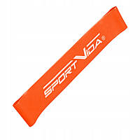 Резинка для фитнеса и спорта, лента-эспандер SportVida Mini Power Band 1 мм 10-15 кг SV-HK0202 - 227075