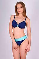 Женский купальник, мягкая чашка Miss Marea 20428 46 Сине-голубой MissMarea 20428
