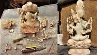 Реставрация статуэтки из оникса