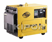 KDA6700TAO Генератор дизельный KIPOR 5,0 кВт