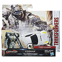 Трансформер-автобот Когман в 1-шаг, 10 cм - Cogman, One step, Turbo Changer, TF5, Hasbro - 150259