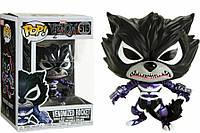 Фигурка Funko Pop Фанко Поп Marvel Venom Venomized Rocket Реактивный Енот веномизированный Веном - 223084