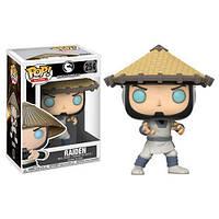 Фигурка Funko Pop Фанко Поп Mortal Kombat X Raiden Мортал Комбат Икс Рейден 10 см - 222756