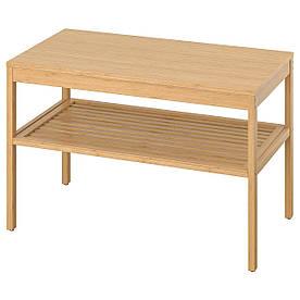 IKEA, NORDKISA, Скамья, бамбук, 80 см (004.476.80)(00447680) НОРДКИСА ИКЕА