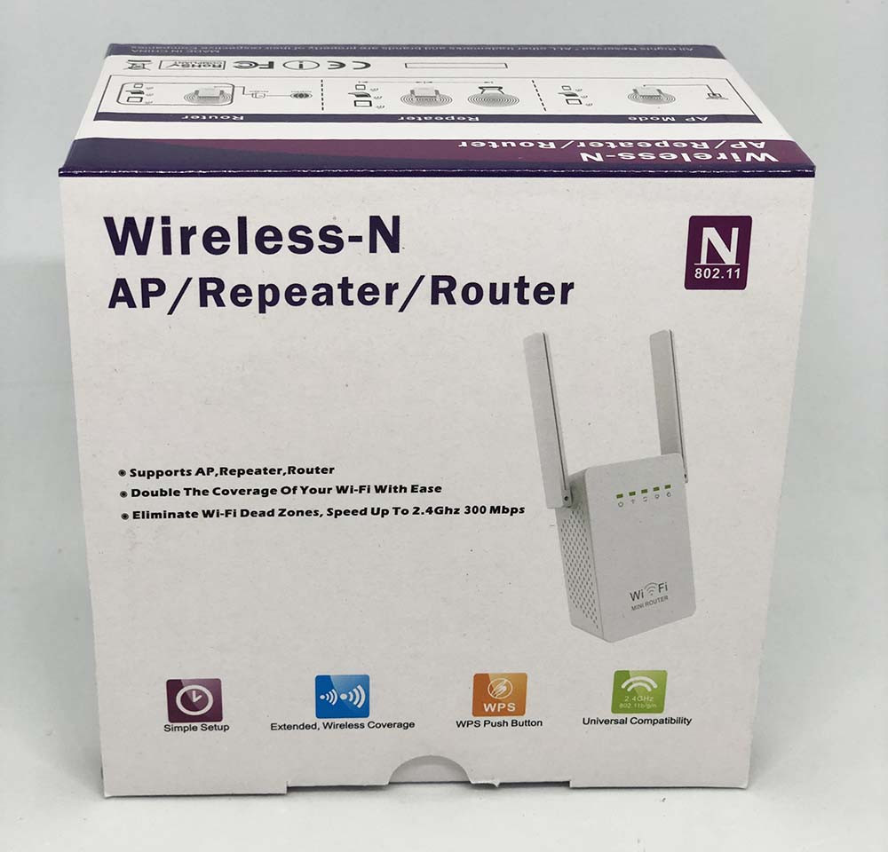 Роутер Wi fi repeater LV-WR02ES