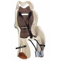 Детское велокресло Sanbas T HTP design на раму бежевое (CHR-006-1)