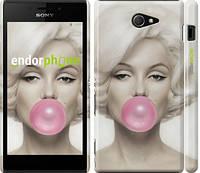 """Чехол на Sony Xperia M2 D2305 Мэрлин Монро """"1833c-60"""""""