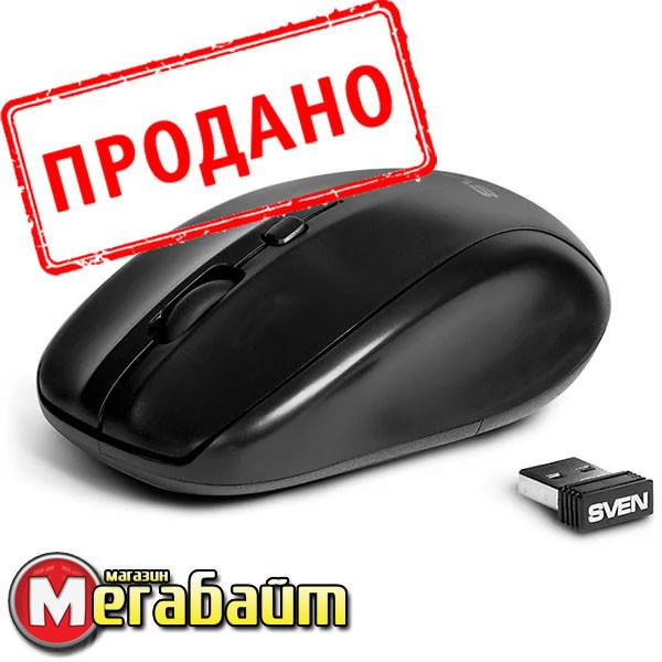 Мышь беспроводная SVEN RX-305 черная USB