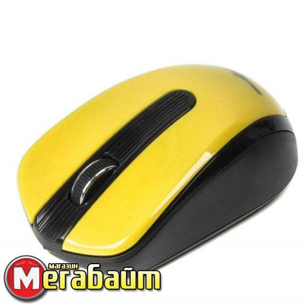 Мышь беспроводная Maxxter Mr-325-Y Yellow USB
