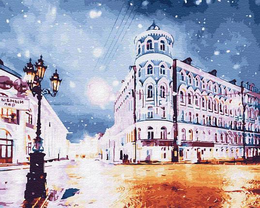 BK-GX30132 Картина для рисования по номерам Ночной город, Без коробки, фото 2
