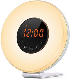 Детский ночник Noku Wake Up имитация восхода солнца цифровые часы-будильник (NC_200)