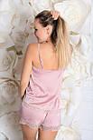 Пижама майка + шорты MiaNaGreen П003 Фламинго, фото 5
