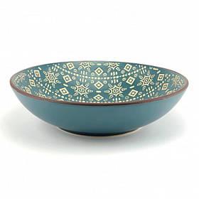Миска керамическая Astera Engrave Blue суповая 20 см A0440-HP21-SP