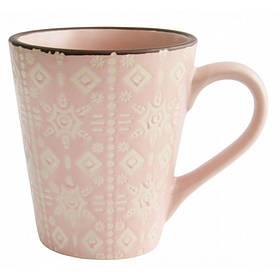 Кружка Astera Engrave 360 мл Pink керамическая  A0420-HP22-M