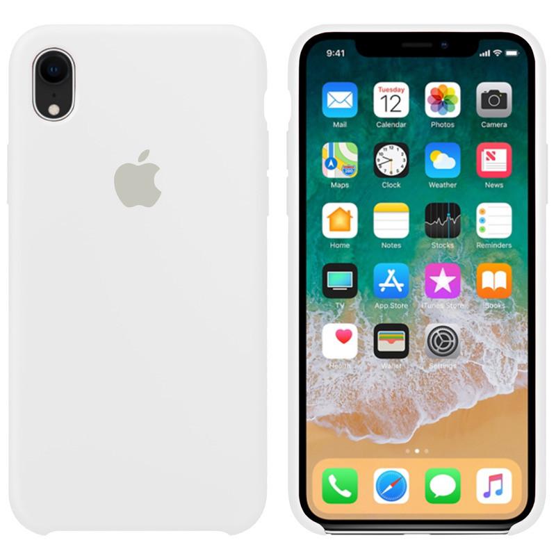 Чехол Apple (MC) iPhone XR (White)