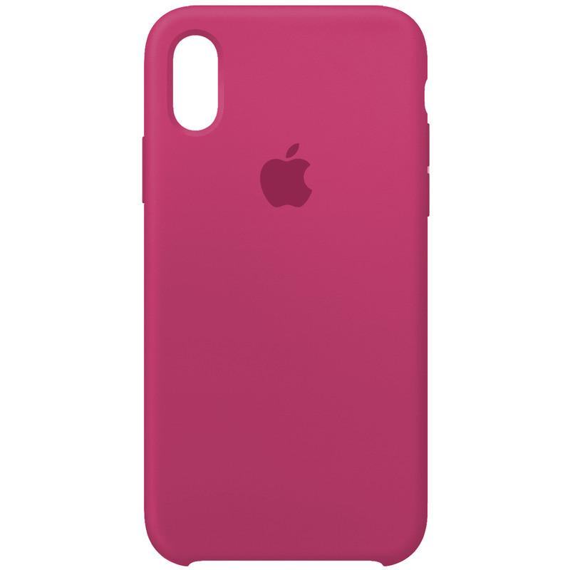 Чехол Apple (MC) iPhone XR (Dragon Fruit)