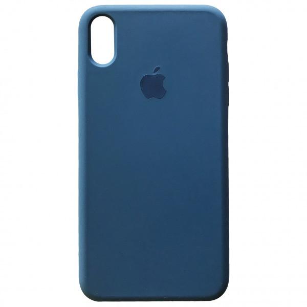 Чехол Apple (MC) iPhone XR (Alaskan Blue)