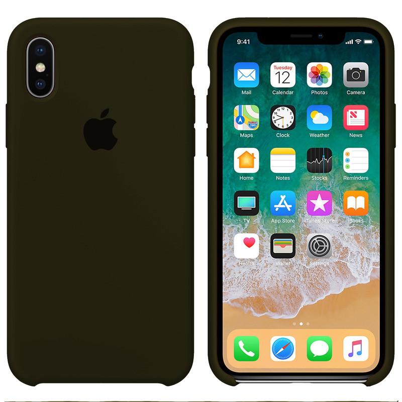 Чохол Apple (MC) iPhone X / Xs (Virid Green)