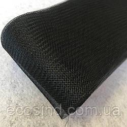 01-Регилин (кринолин) 80мм черный (моток-23м) (1-2118-Е-94)
