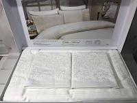 Комплект постельного белья с кружевом Gelin home Gurlu white