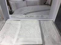 Комплект постельного белья с кружевом Gelin home pelin w