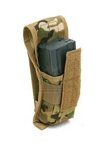 Оригинал Подсумок для магазина молле двойной Pantac Molle SpecOps Single M16 Dual-Mag Pouch PH-C829, Cordura