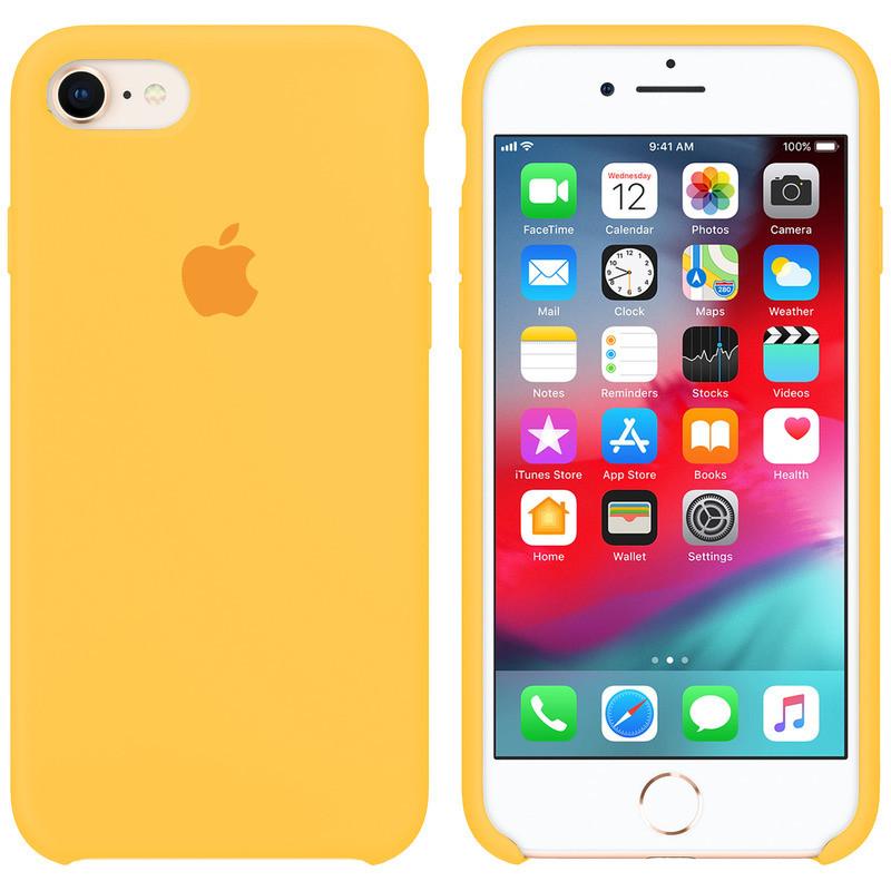 "Чохол Apple (MC) iPhone 7/8 (4.7 "") (Canary Yellow)"
