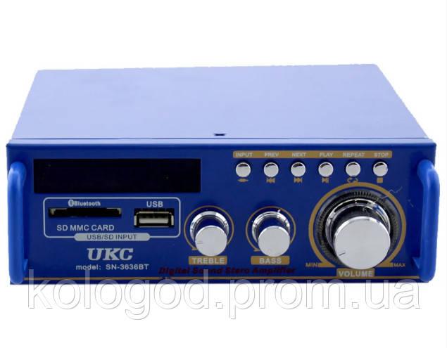 Усилитель Домашний AMP SN 3636 BT С Bluetooth