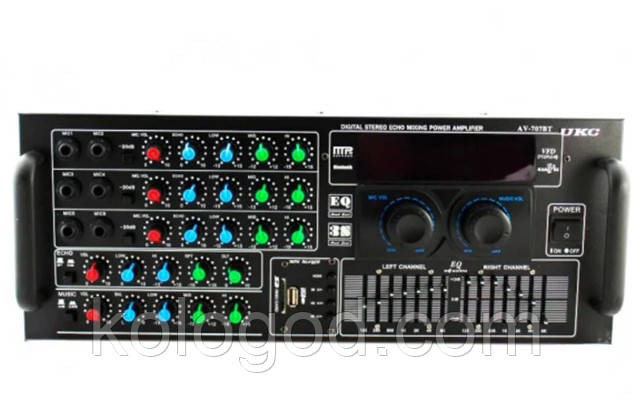 Усилитель Звука AMP 2009/707 BT