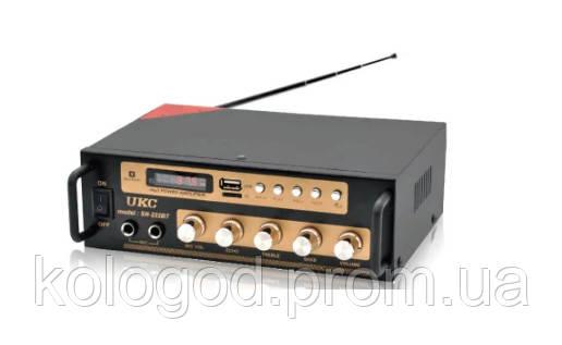 Усилитель Звука Двухканальный AMP SN 222 BT