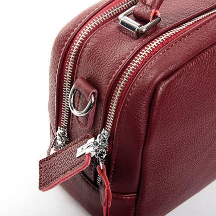 Сумка Женская Классическая кожа ALEX RAI 2-03 8731-9 wine-red, фото 2