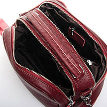 Сумка Женская Классическая кожа ALEX RAI 2-03 8731-9 wine-red, фото 3