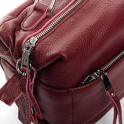 Сумка Женская Классическая кожа ALEX RAI 2-03 8777-9 wine-red, фото 2