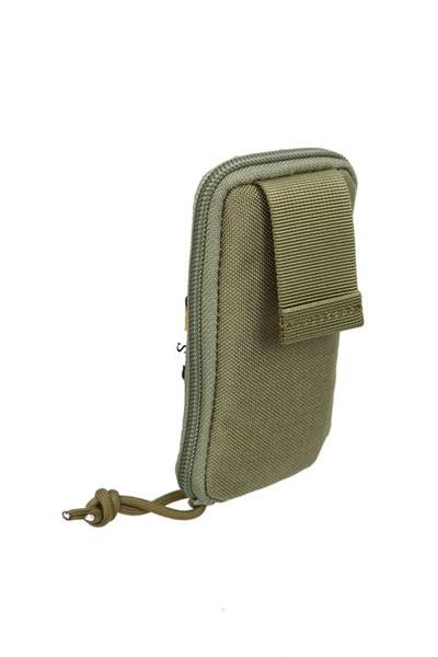Оригинал Подсумок сброса стрелянных магазинов складной молле Pantac Molle Zippered Drop Pouch PH-C848, Small, Cordura Ranger Green