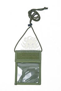 Pantac Neck ID Wallet OT-C717, Cordura Олива (Olive)