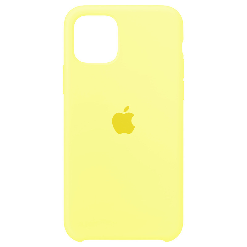 Чехол Apple (MC) iPhone 11 Pro Max (Mellow Yellow)