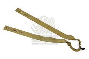 Оригинал Трехточечный ремень для оружия на бронежилет Pantac One Point Sling For Ciras SL-N042 Олива (Olive)