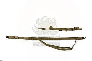 Оригинал Трехточечный ремень для оружия Pantac Tactical 3-Point Rifle Sling SL-N023 Олива (Olive)