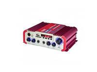 Усилитель Мощности Звука AMP AV 206 BT Компактный Усилитель Звука, фото 1