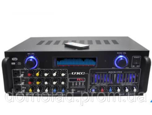 Усилитель Мощности Звука UKC AMP AV 1800 Компактный Усилитель Звука