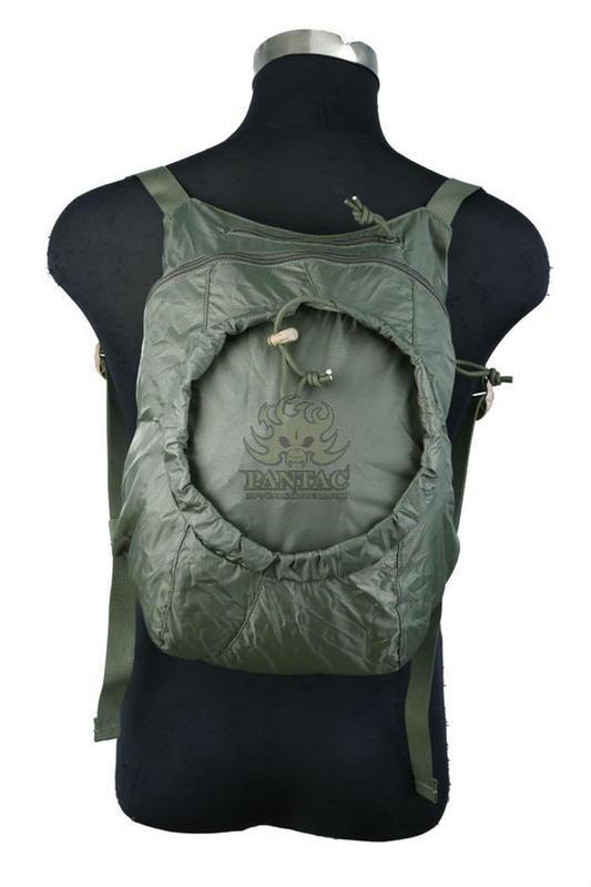 Оригинал Компактный запасной рюкзак Pantac Capsule Pack PK-N750, Small Олива (Olive)