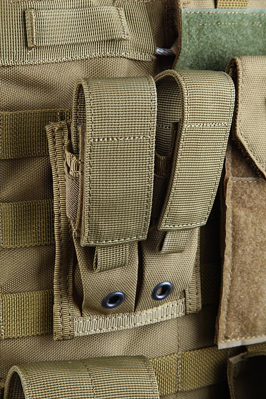 Shark Molle 9mm Pistol Single Mag Pouch 80202-1, 900D (одинарний) (discontinued) Coyote Brown