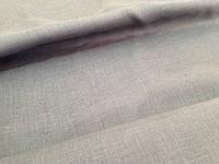 Серая льняная ткань, цвет 330