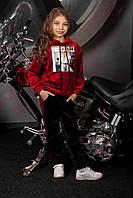 Детский бархатный спортивный костюм Likee (8-14 лет)