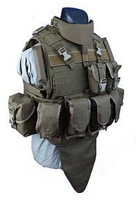 Оригинал Бронежилет чехол Shark Molle MTV Body Armor 90002929, Medium, 900D Coyote Brown