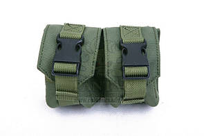 Pantac Molle Dual Fragment Grenade Pouch PH-C876, Cordura Олива (Olive)