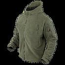 Оригинал Тактическая флисовая куртка Condor SIERRA Hooded Fleece Jacket 605 Large, Койот (Coyote), фото 2