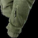 Оригинал Тактическая флисовая куртка Condor SIERRA Hooded Fleece Jacket 605 Large, Койот (Coyote), фото 4