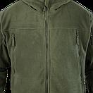 Оригинал Тактическая флисовая куртка Condor SIERRA Hooded Fleece Jacket 605 Large, Койот (Coyote), фото 5